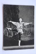 Konek-Gorbunok - Ballet  - Dancer Vasiliev - - Old Soviet Postcard 1965 - Danse