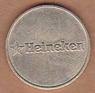 AC -  HEINEKEN BEER HOLLAND CASINO TOKEN JETON - Monedas/ De Necesidad