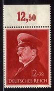 Deutsches Reich, 1941, Mi 772 X **, Geburtstag Von Hitler, [120317L] - Nuevos