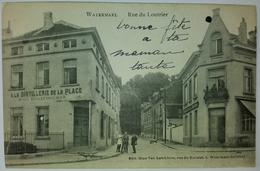 CPA Watermael Rue Du Loutrier Distillerie De La Place Devleeshouwer - Watermael-Boitsfort - Watermaal-Bosvoorde