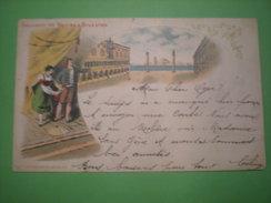 Souvenir De Venise à Bruxelles, 13/4/1899, Timbre (T1) - Belgium