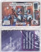 VATICANO 1996 PRIMA PREPAGATA  NUOVA Con Blister -Tiratura 1000 Esclusiva Guardie Svizzere -