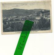 SAN LORENZO  IN  CAMPO  PANORAMA DI PONENTE--7--11-1925  X LUINO  VARESE -- SPEDITA 28--07-1941 FRANCOBOLLO ROTTO-- - Urbino