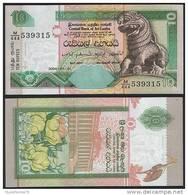 Sri Lanka P 115 C - 10 Rupees 1.7.2004 - UNC - Sri Lanka