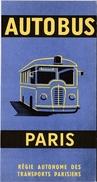 Régie Autonome Des Transports Parisiens - Autobus Paris- 1961  Illustrateur: Georges Redon - Europe