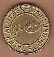 AC -  GESUNDHEITS TALER APOTHEKEN SANDOZ PRO PHARM PHARMACY TOKEN JETON - Monétaires/De Nécessité