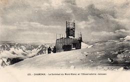 74.MONT-BLANC....CPA...OBSERVATOIRE JANSSEN AU SOMMET DU MT BLANC..........LOT F2659 - Chamonix-Mont-Blanc