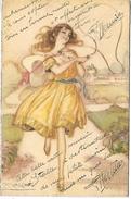 FEMME - Illustrateur MAUZAN - Mauzan, L.A.