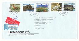 Island, Brief, Mischfrankatur 1988-1991. - 1944-... Republique