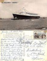 France - Le Havre - Le Paquebot France - Transatlantique (A-L 552) - Cartoline