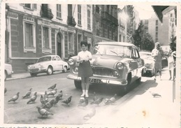 Photo Originale Automobile Versailles Dauphine 1963 Nice - Automobiles