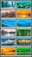 China 2004-24 Frontier Scenes Of China Stamps Landscape - Neufs