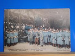 BORDEAUX  Enseignement Professionnel à La Caserne 57 ème Infanterie,  9 ème Compagnie  Visite Aux Ateliers PURREY - Bordeaux