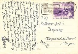 L3326 - Austria (1964) Salzburg 1: WIPA 1965 (logo) International Stamps Exhibition; Stamp: Congress UPU 1964 - Timbres Sur Timbres