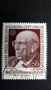 Österreich 1652 Oo/ET, EUROPA/CEPT 1980, Robert Stolz (1880-1975), Komponist - 1971-80 Used