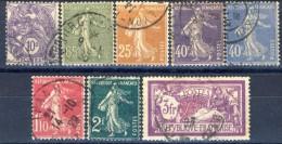 Francia 1927 - 31 Serie N. 233-240 Usati Catalogo € 10 - France