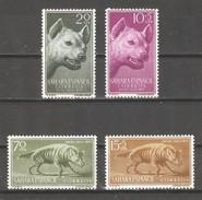 Spanish Sahara 1957,Striped Hyena,Sc 88-89,B43-B44,VF MNH** - Sahara Espagnol