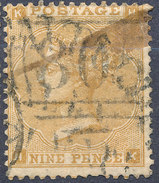 Stamp GB 1862  9p  Used Lot#30 - 1840-1901 (Viktoria)