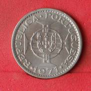 SÃO TOMÉ E PRÍNCIPE 5 ESCUDOS 1971 -    KM# 20 - (Nº10149) - São Tomé Und Príncipe