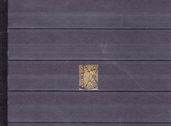 ARMOIRIES/OBLITéRé/ 5 S NOIR ET JAUNE/ N°7 YVERT ET TELLIER 1881 - Gebraucht