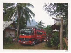 AK Laos Rotel Tours Das Rollende Hotel Die Größten Busreisen Der Welt Mercedes Bus Tittling Herrenstraße 11 Lao Asien - Laos