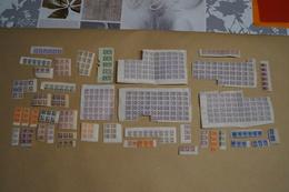 Lot Important De Timbres De Ravitaillement,1940-1945,originaux,pour Collection - 1939-45