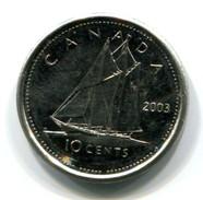 2003 Canada 10c Coin - Canada