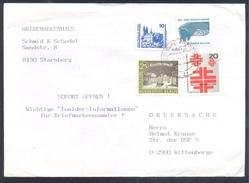 Germany Deutschland 1990 Cover: Deutsche Turnfest 1968 Berlin; Gymnastics; Horse Post Carriage Architecture Castle Lion