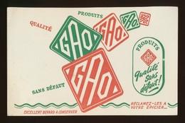 Buvard - Produits GAO - Blotters