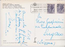 ITALIE, 7° Convention Internationale Des Communications, Celebration Colombienne, Genes 1959 - Telekom