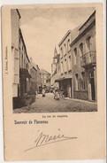 SOUVENIR DE FLORENNES LA RUE DU CHAPITRE   Cachet  1903 ? Ref.  6/160 - Florennes