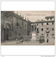 SLMCTPA955CPA-LFTD1116TBES.Tarjeta Postal DE SALAMANCA.ARTE.Escultura.PLAZA  ESCUELAS Y ESTATUA DE FRAY LUIS DE LEON - Esculturas