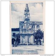 SVLLTPA1865CPA-LFTD11779TBAS.Tarjeta Postal DE SEVILLA.ARTE.Escultura,,plaza De SANTA MARIA DEL VALLE  En  ECIJA - Esculturas