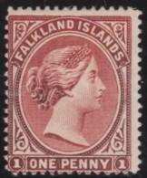 Falkland Islands      .       SG     .     5      .     *       .      Ongebruikt   .    /    .   Mint-hinged - Falklandeilanden
