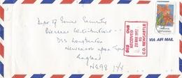 Grenada 1992 Orchid Neocogniauxia Monophylla Cover - Grenada (1974-...)