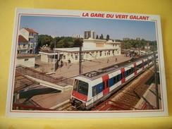 TRAIN 9011 VILLEPINTE TREMBLAY EN FRANCE 93 LA GARE DU VERT GALANT - TRAIN - Estaciones Con Trenes