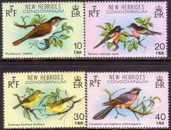 NEW HEBRIDES(English Inscr.) 1980 SG 283-86 Compl.set Used Birds - English Legend