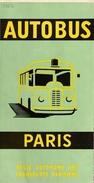 Régie Autonome Des Transports Parisiens - Autobus Paris- 1963  Illustrateur: Georges Redon - Europe