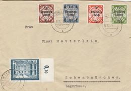 Allemagne Lettre De Pain 1939 - Allemagne