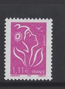 2005 - TIMBRE NEUF - MARIANNE DE LAMOUCHE (Lilas) - N° YT : 3740 - 2004-08 Marianne De Lamouche