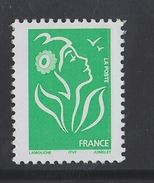 2005 - TIMBRE NEUF - MARIANNE DE LAMOUCHE (Vert) - N° YT : 3733 - 2004-08 Marianne De Lamouche
