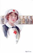 It's A Girl ! / Nurse / Infirmière / Croix-Rouge / Red-Cross / Soldats / Guerre 14-18 - Health