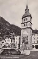 Switzerland Altdorf Dorfplatz mit Telldenkmal Photo