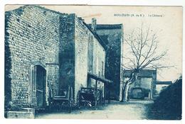 MOLLEGES Près St Rémy, Le Château  - Circulée 1942-  Bon état - France
