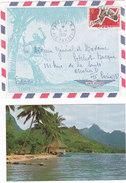Polynésie Française, Lettre De Papeete De 1970, N° 67 ( Poly17/002) - Polynésie Française