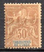 Col3 :  Inde : N° 9  Neuf X MH  , Cote : 64,00€ - India (1892-1954)