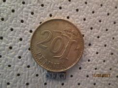 FINLAND 20 Pennia 1963 - Finland