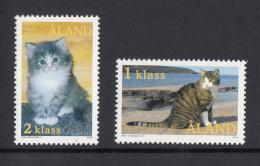 Aland MNH 2003 Set Of 2 Housecats - Aland