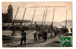 66 - COLLIOURE . LE HALLAGE DES BARQUES - Réf. N°144 - - Collioure