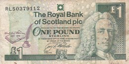 Scotland 1 Pound 1994 VG P-358a COMMEMORATIVE ISSUE (free Shipping Via Regular Air Mail (buyer Risk) - [ 3] Scotland